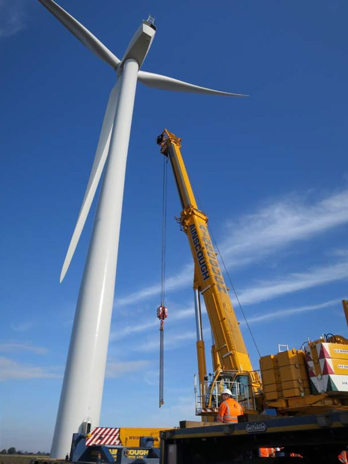 ainscough windcrane