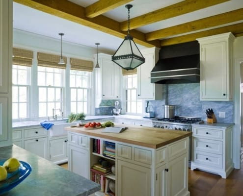 Double Hung Windows in Kitchen